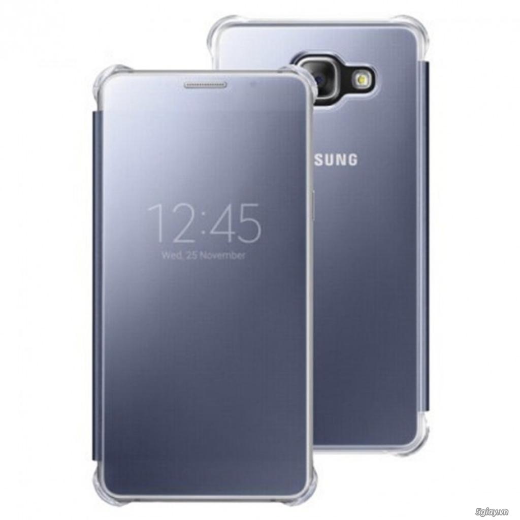 Bao da Clear view, S view  Samsung a7 2016, S6 S7 edge chính hãng ssvn - 1