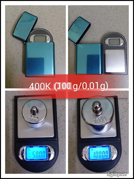 Cân điện tử tiểu ly,bỏ túi,mini tổng hợp từ 100g/0,01g->500g/0,01g - 7