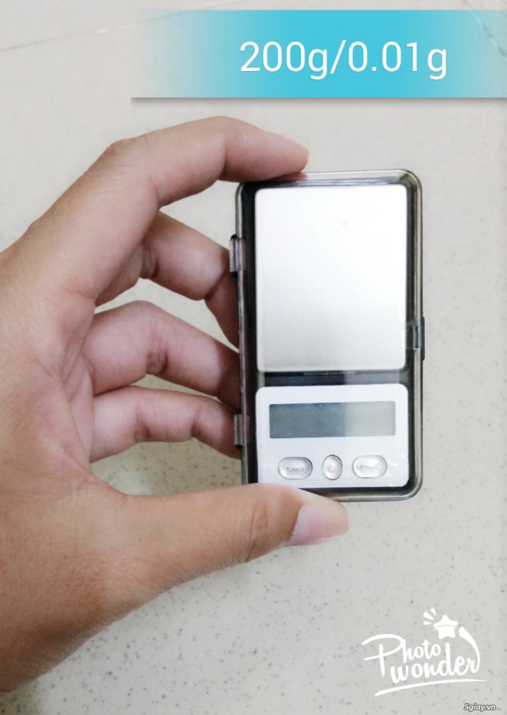 Cân điện tử tiểu ly,bỏ túi,mini tổng hợp từ 100g/0,01g->500g/0,01g - 8