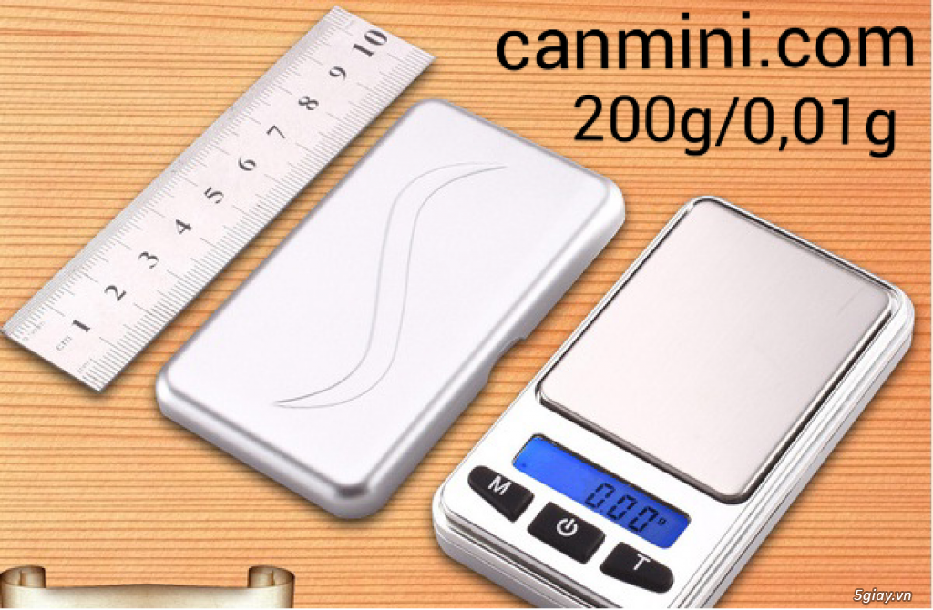 Cân điện tử tiểu ly,bỏ túi,mini tổng hợp từ 100g/0,01g->500g/0,01g - 13