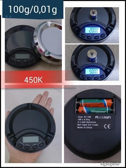 Cân điện tử tiểu ly,bỏ túi,mini tổng hợp từ 100g/0,01g->500g/0,01g - 19