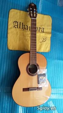 Alhambra guitar Mod 4C, Alhambra 1P và Alhambra Iberia A Tây Ban Nha - 6