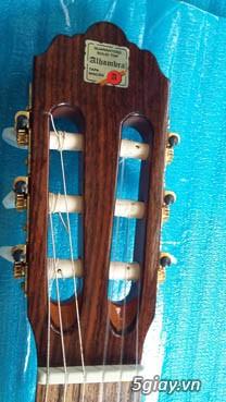 Alhambra guitar Mod 4C, Alhambra 1P và Alhambra Iberia A Tây Ban Nha - 9