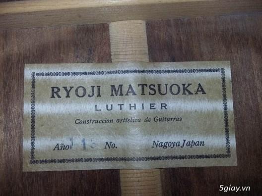Matsouka clasical guitar size 3/4 Nhật - 7