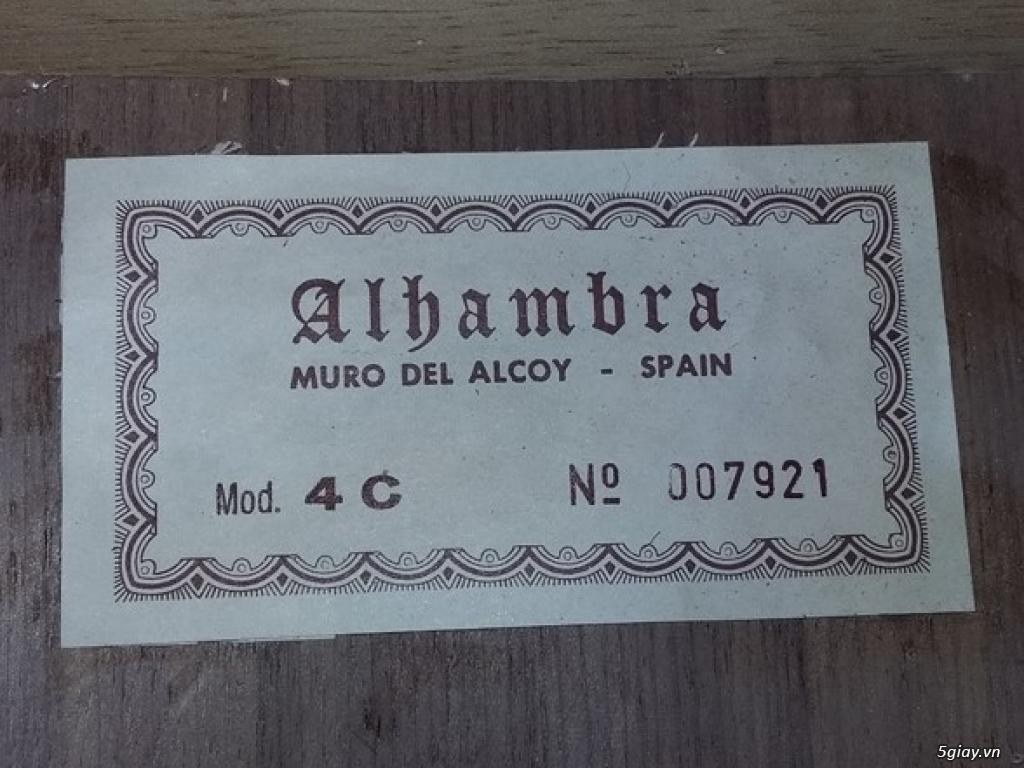 Alhambra guitar Mod 4C, Alhambra 1P và Alhambra Iberia A Tây Ban Nha - 1