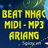 Beat Nhạc MIDI & MP3 trích xuất Karaoke Ariang vol61 (cập nhật 7/2018)