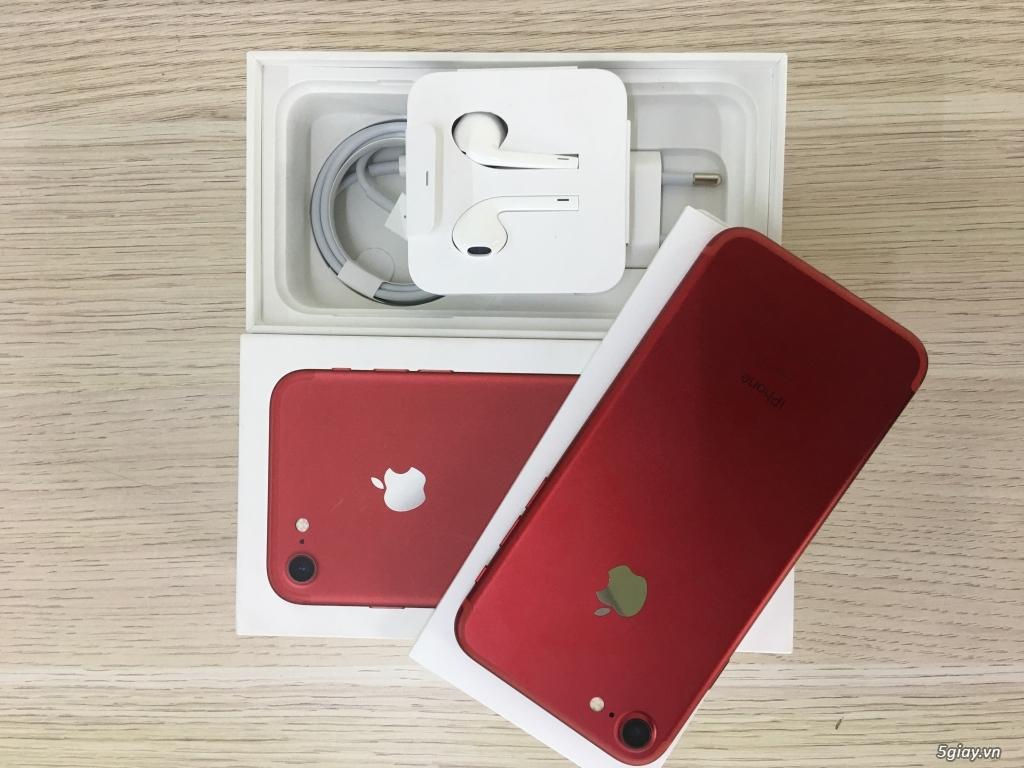 Iphone 7 128GB Đỏ Fullbox Hàng VN BH 28/3/2018 đẹp keng - TP.Hồ Chí Minh -  Five.vn