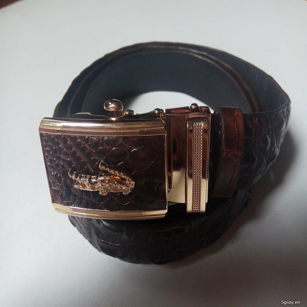 dây nịt da cá sấu giá rẻ - 2