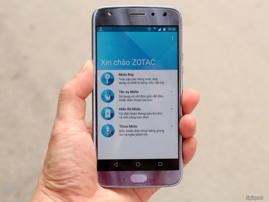 Thử nghiệm tương tác thông minh trên Motorola Moto X4 - 217732
