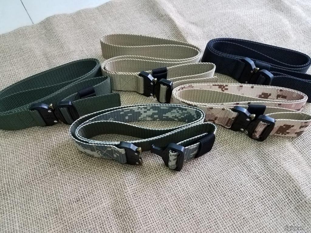 Chuyên bán dây nịt lính Mỹ US, dây nịt vải bố, thắt lưng vải mặt nhựa - 11