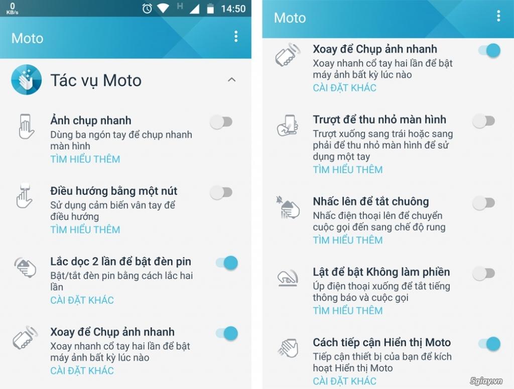 Thử nghiệm tương tác thông minh trên Motorola Moto X4 - 217735