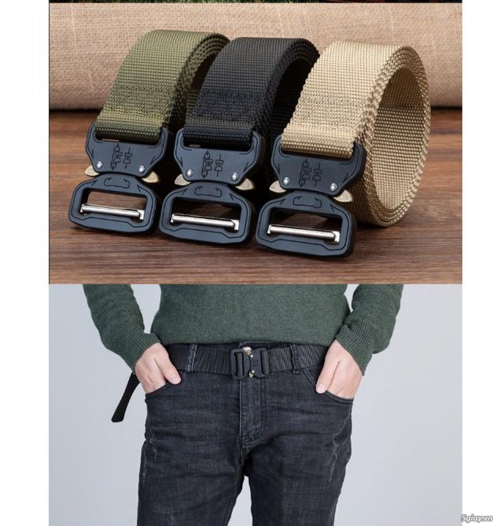 Chuyên bán dây nịt lính Mỹ US, dây nịt vải bố, thắt lưng vải mặt nhựa - 10