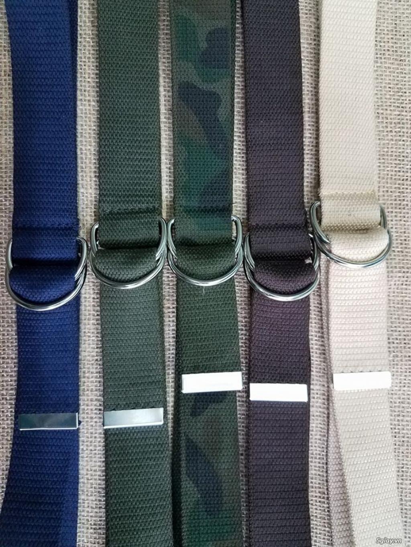 Chuyên bán dây nịt lính Mỹ US, dây nịt vải bố, thắt lưng vải mặt nhựa - 39