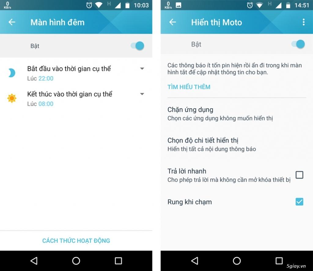 Thử nghiệm tương tác thông minh trên Motorola Moto X4 - 217738