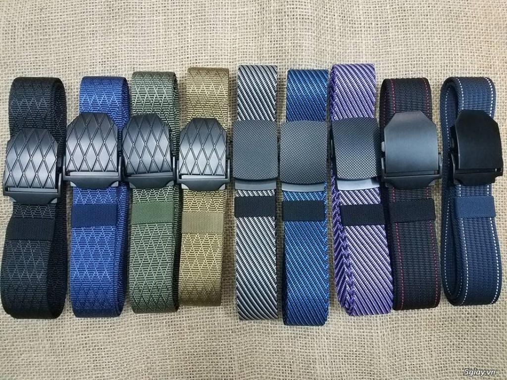 Chuyên bán dây nịt lính Mỹ US, dây nịt vải bố, thắt lưng vải mặt nhựa - 5