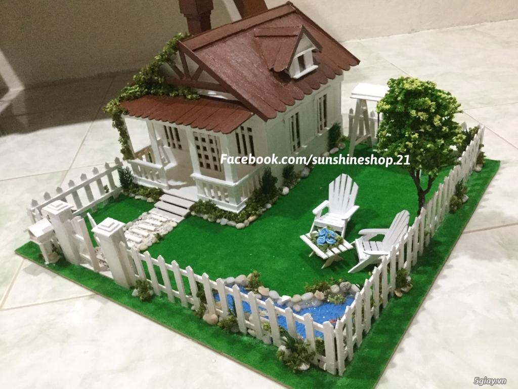 SunShineShop - Nhận đặt làm mô hình nhà que theo yêu cầu - 9