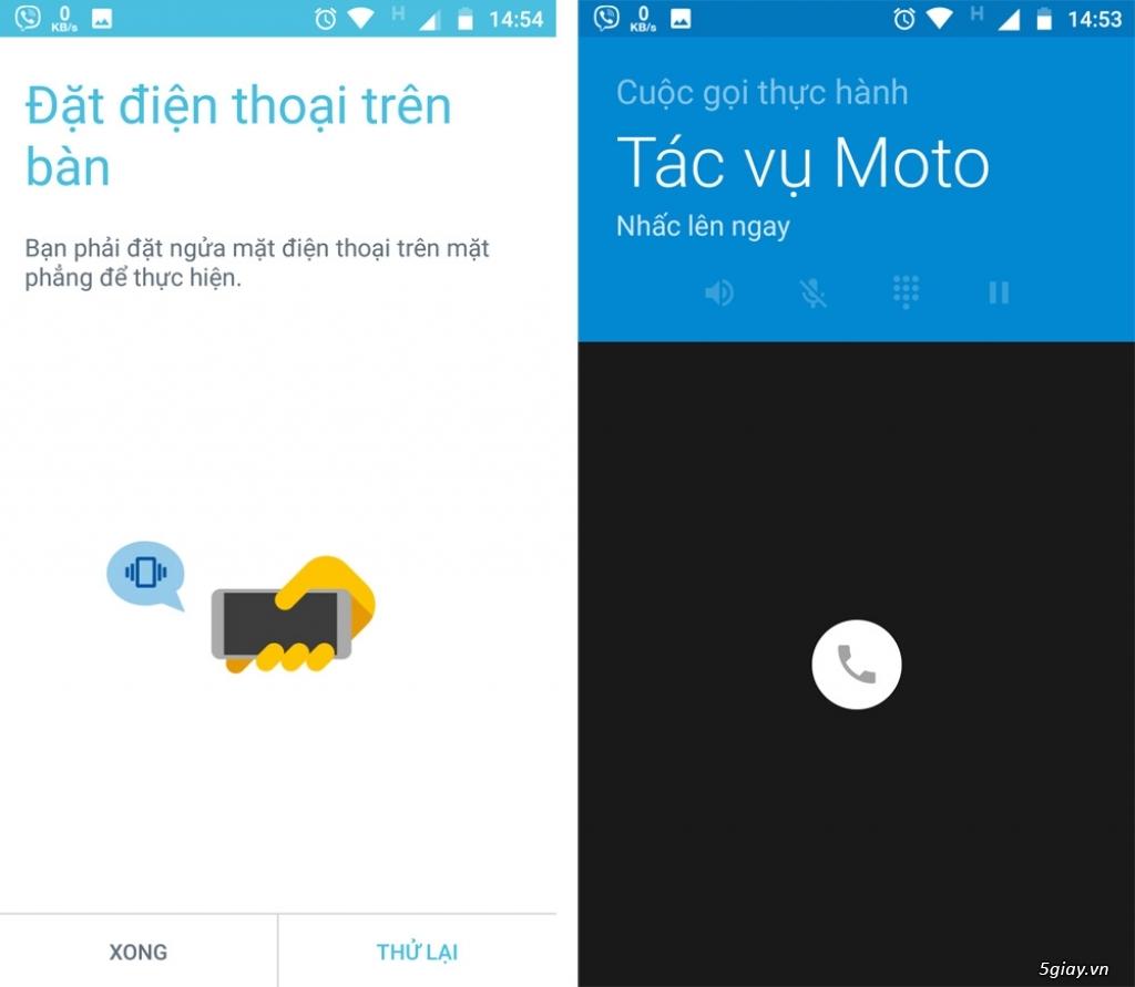 Thử nghiệm tương tác thông minh trên Motorola Moto X4 - 217737