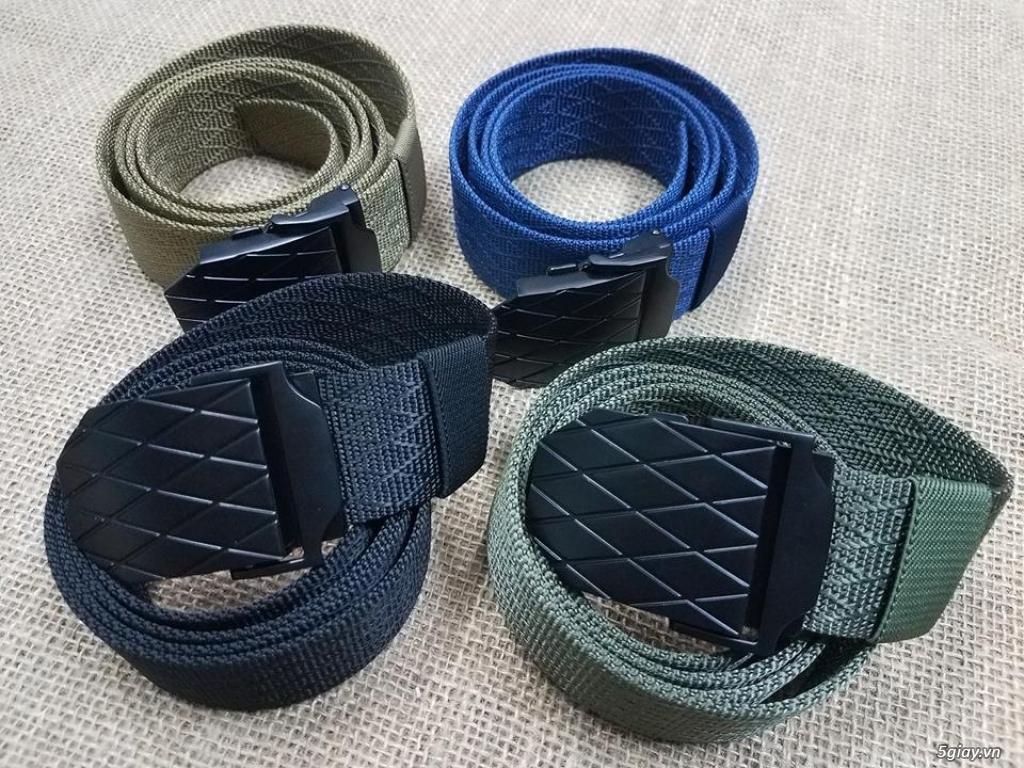 Chuyên bán dây nịt lính Mỹ US, dây nịt vải bố, thắt lưng vải mặt nhựa - 6
