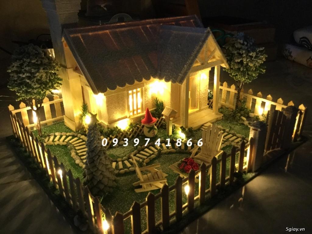 SunShineShop - Nhận đặt làm mô hình nhà que theo yêu cầu - 5