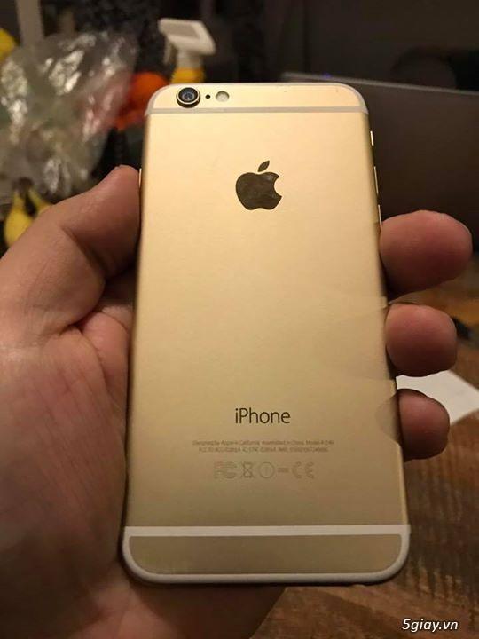 Iphone 6 gold 16G hàng mỹ còn mới 98% full box ra đi