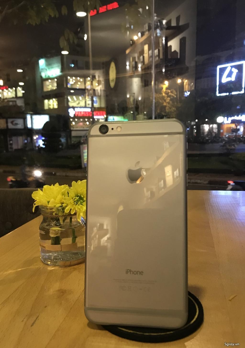 iPhone 6 Plus Gray 16Gb đẹp 98%, Hàng Mỹ, Quốc Tế, Nguyên Zin Giá tốt - 4