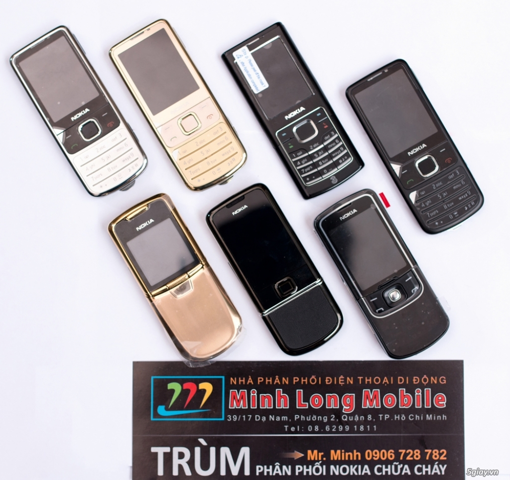 Chia sẻ của Minh Long mobile về niềm đam mê điện thoại cổ Nokia - 217881
