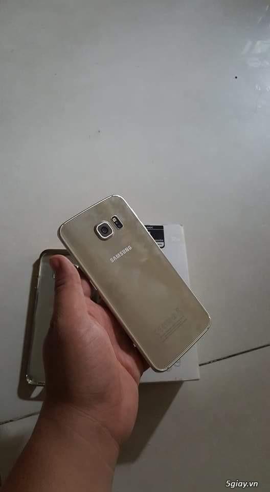 S6 edge gold 32gb hàng công ty việt nam full box - 4