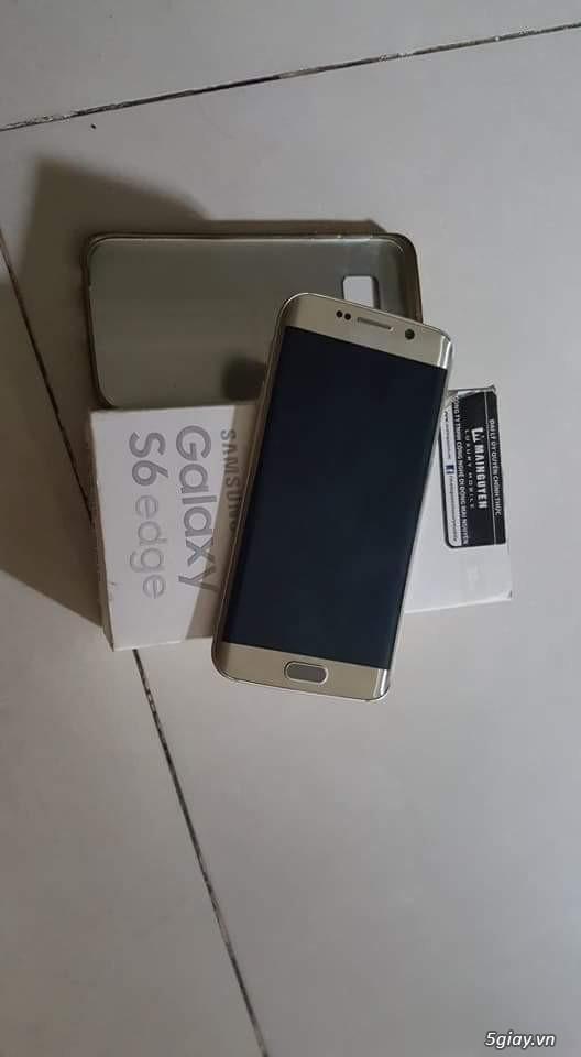 S6 edge gold 32gb hàng công ty việt nam full box - 1
