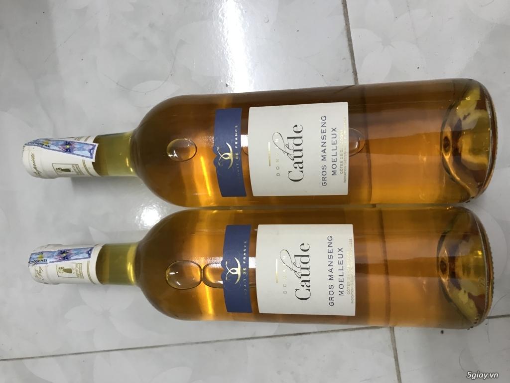 Đấu giá cặp rượu vang bị delete