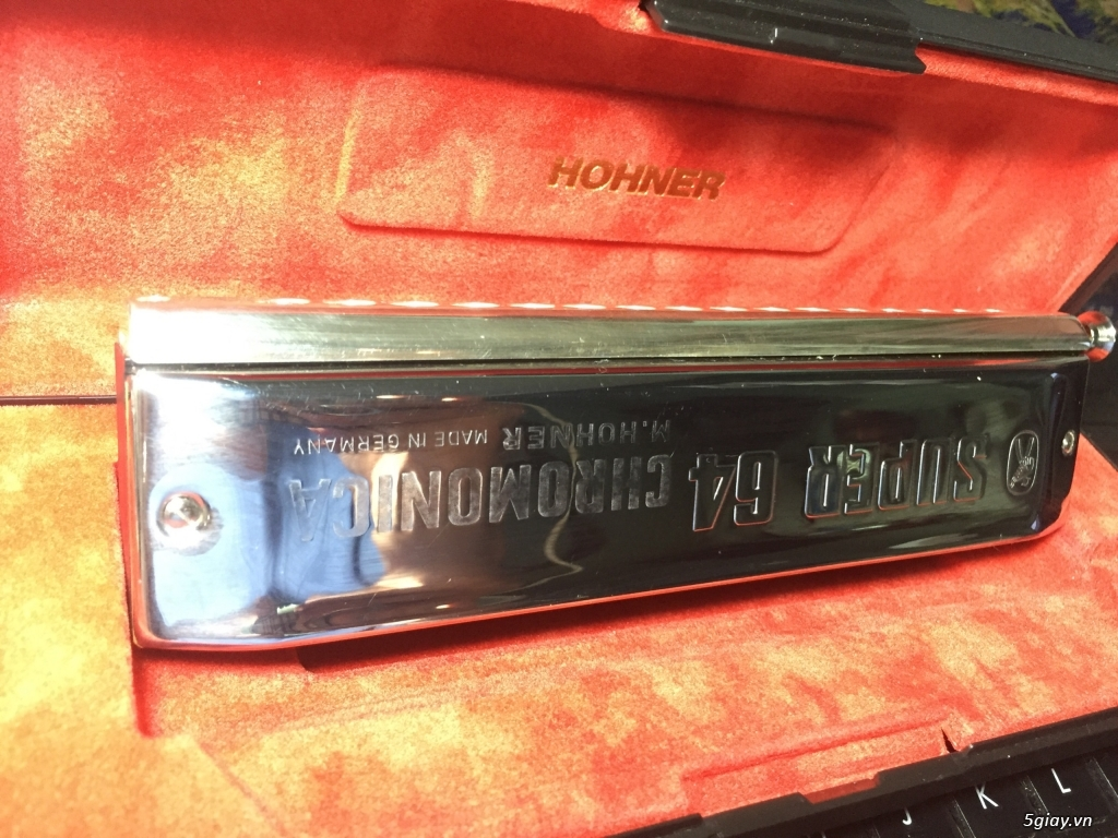 Kèn harmonica chromatic super 64 - Hohner Đức - 3
