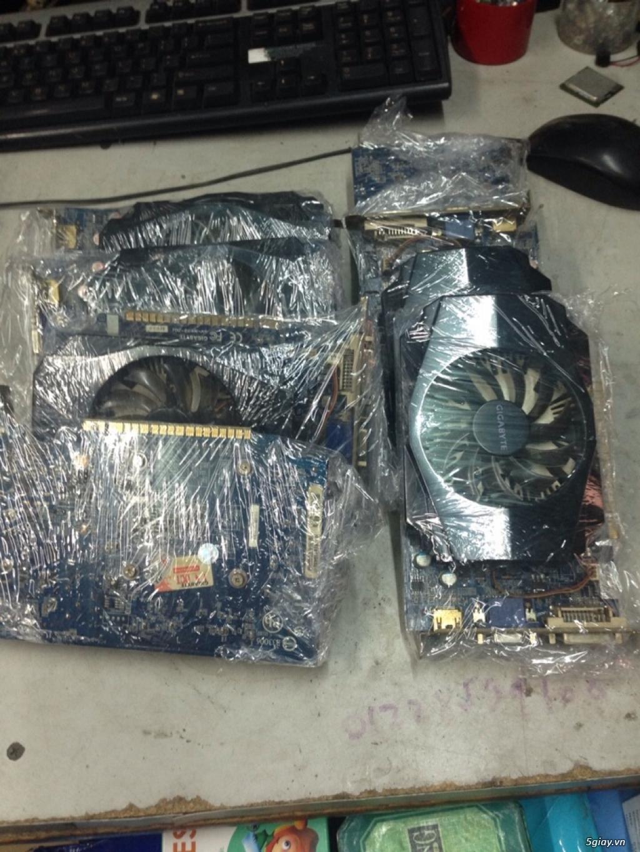 vga giga gt630 2gb, máy bộ workstation HP , Lcd Acer .... giá siêu tốt