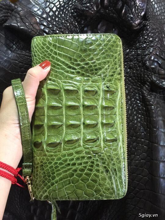 Ví 2 khuôn da cá sấu cao cấp - 2