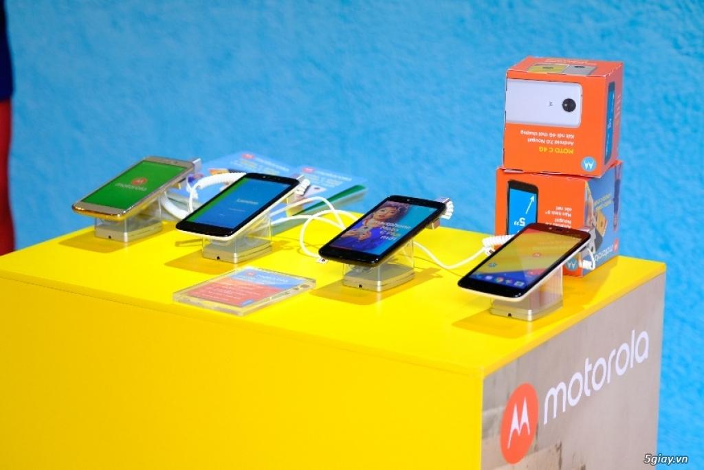 Motorola khẳng định giá trị cạnh tranh ở phân khúc giá phổ thông - 218383