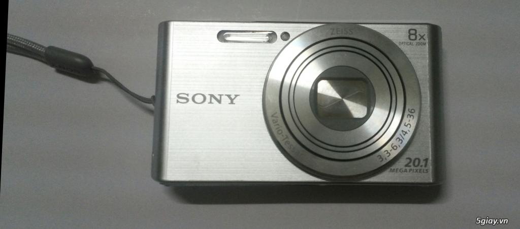 { ĐÔN GIÁ } Máy ảnh Sony DSC- W830 chính hãng, còn bảo hành 1 năm. End: 23h59p ngày 13/01/2018 - 4