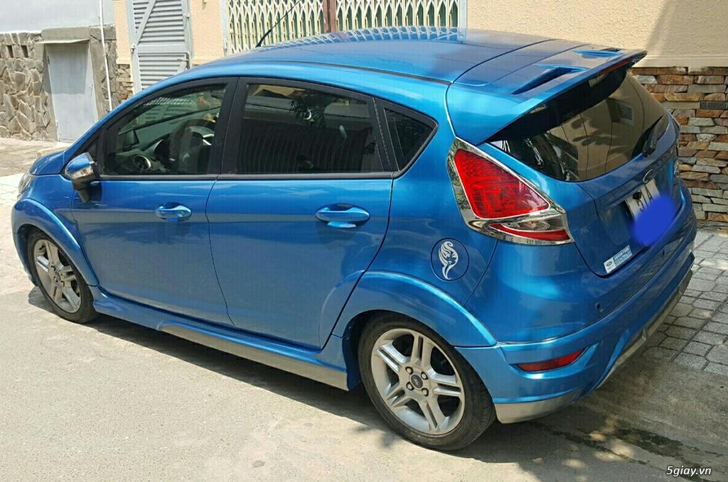 cần bán xe nhà FORD FIESTA S / AT 1.6 đời 2011 xanh