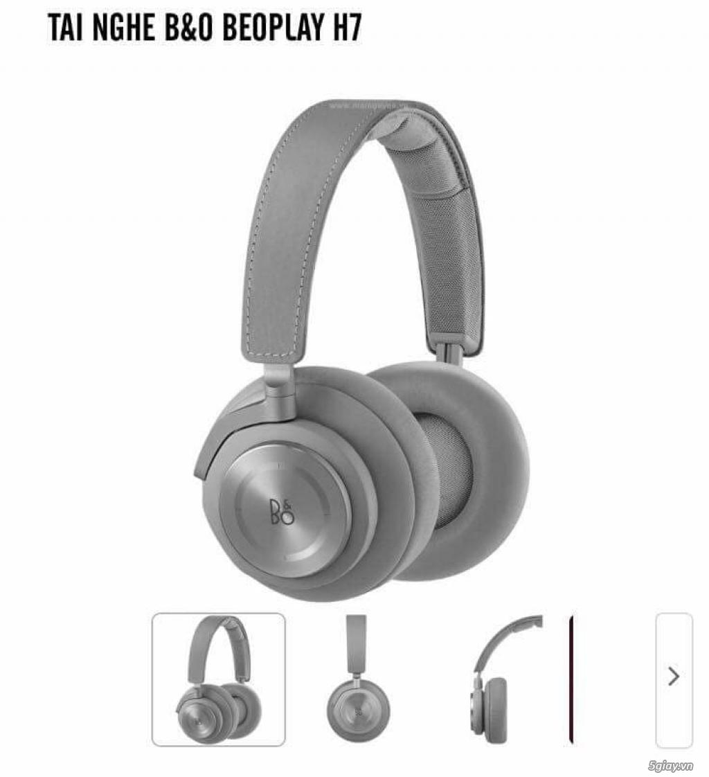 Cần bán: Tai Nghe Chụp Bluetooth Liền Mic Bang & Olufsen BeoPlay H7 - 1
