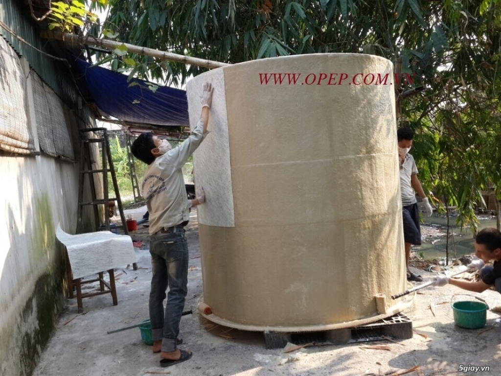 Tháp hấp thụ khí thải bằng nhựa PP PE FRPcompositte - 5
