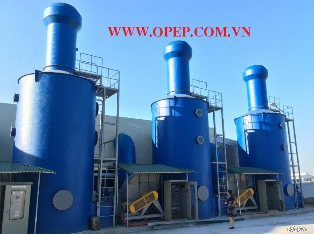 Tháp hấp thụ khí thải bằng nhựa PP PE FRPcompositte - 1