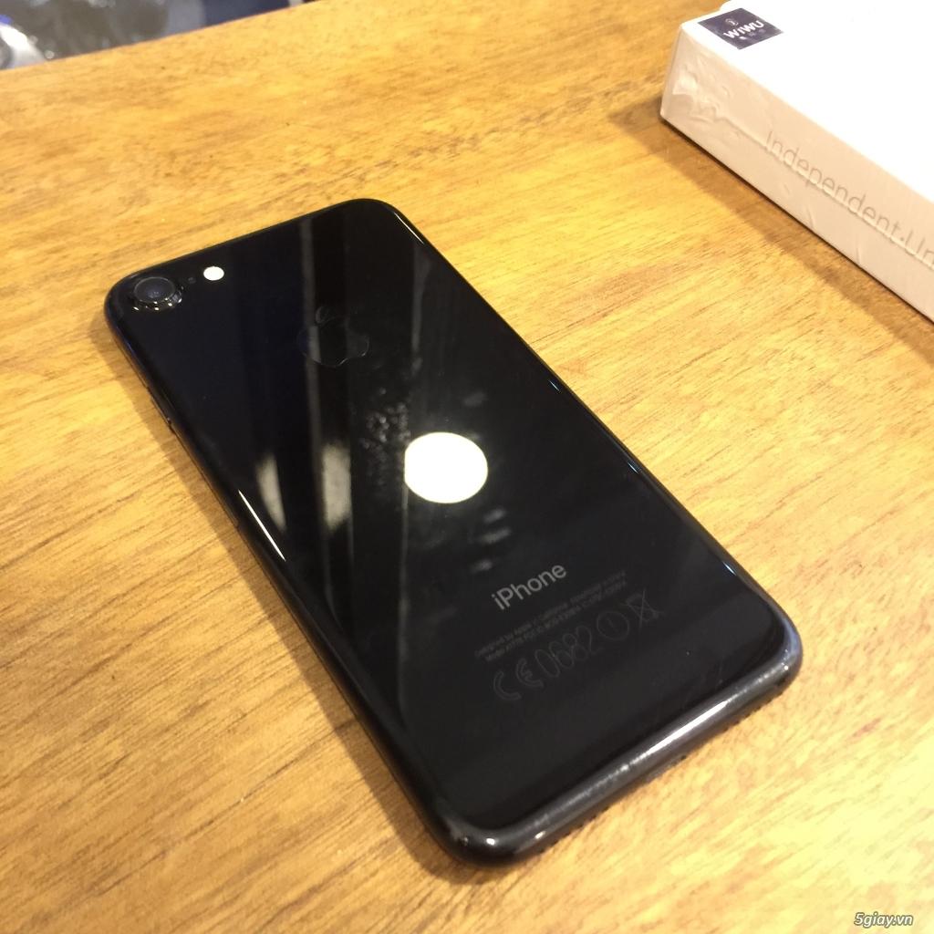 iPhone 7 JetBlack 128Gb máy còn đẹp như mới, có hình thật - 1