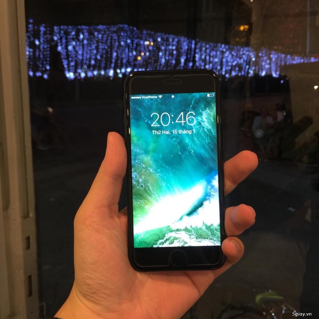 iPhone 7 JetBlack 128Gb máy còn đẹp như mới, có hình thật