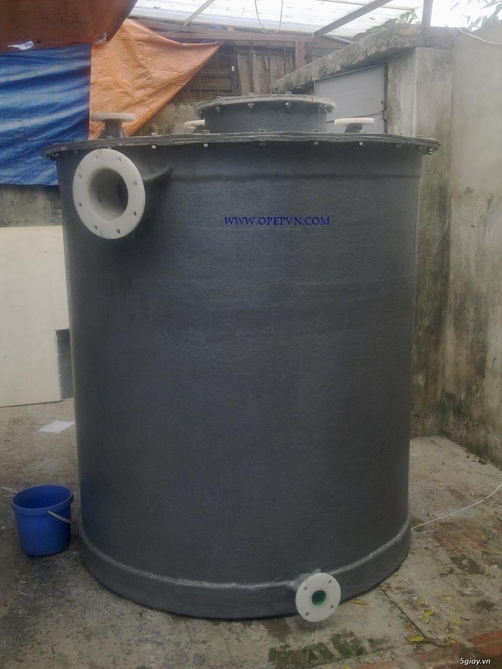 Tháp hấp thụ khí thải bằng nhựa PP PE FRPcompositte - 6