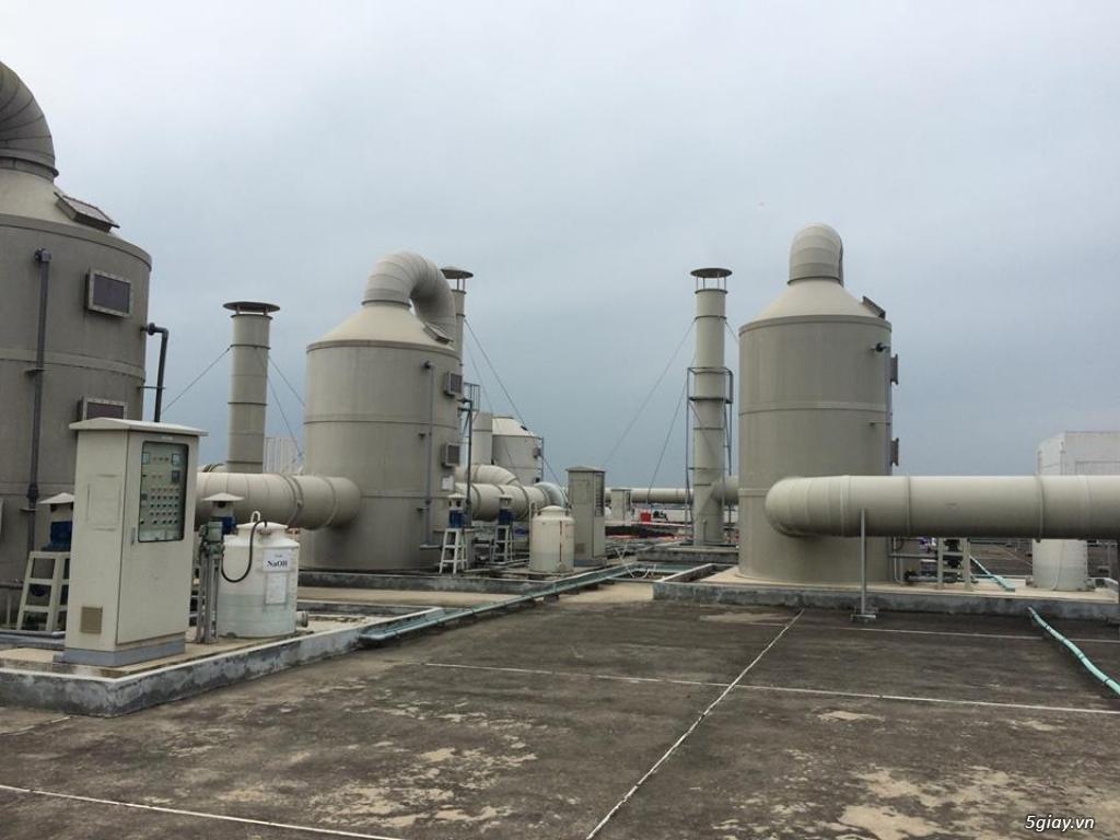 Tháp hấp thụ khí thải bằng nhựa PP PE FRPcompositte - 2