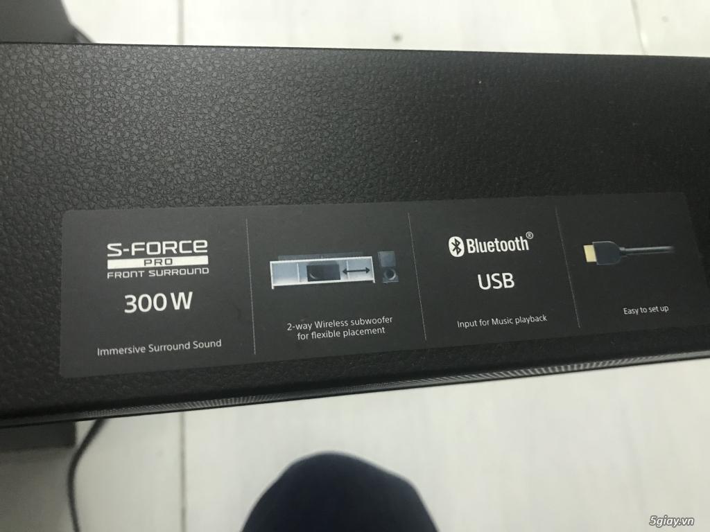 { ĐÔN GIÁ } Sony HT-CT290/ BM 300W Còn bảo hàng tháng 8/2018.Kết thúc 23h59p ngày 16/1/18 - 4