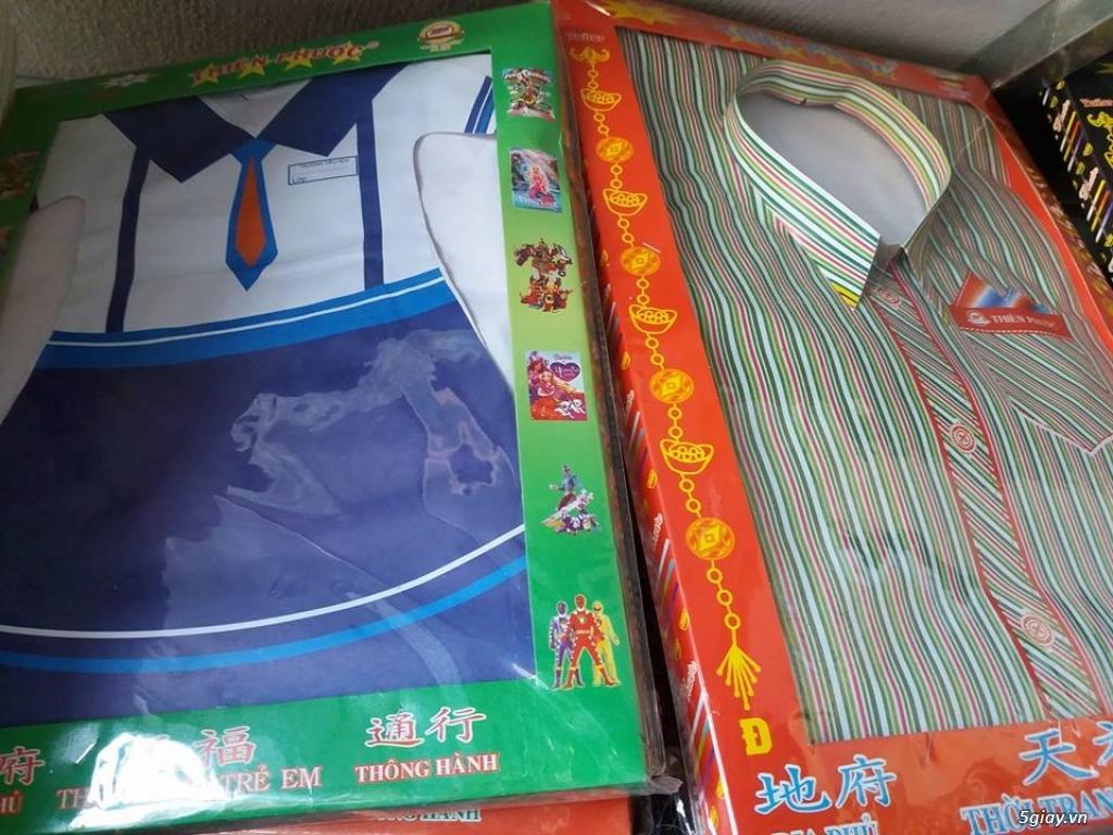 Tiệm nhang Tân Vinh Phúc áo hộp thời trang các loại