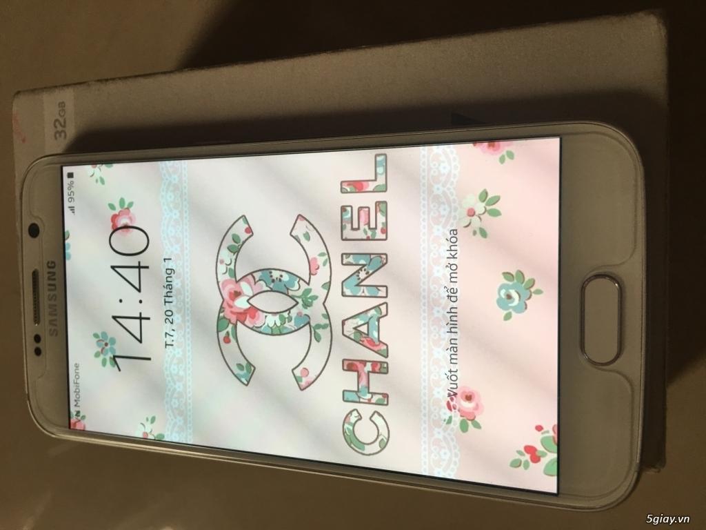 Samsung S6 trắng hàng cty 99% !!! - 2