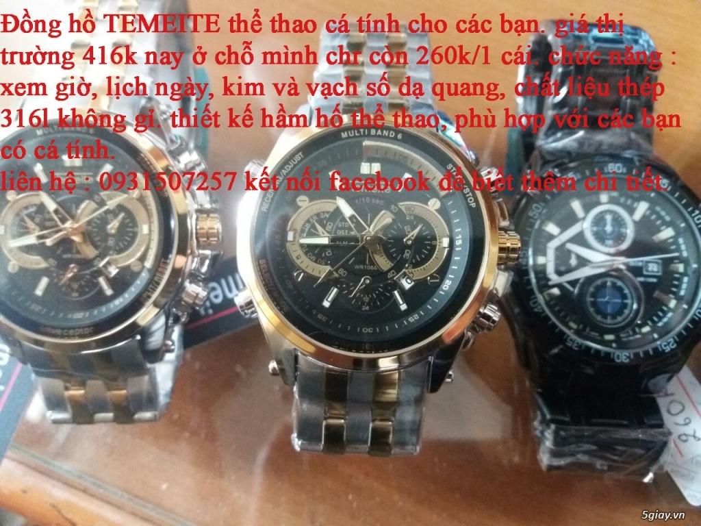 đồng hồ nam giá rẻ nhất toàn quốc cho các bạn lựa chọn - 11
