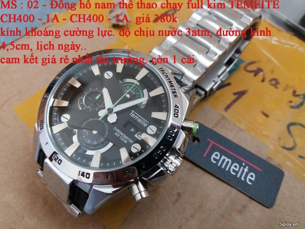 đồng hồ nam giá rẻ nhất toàn quốc cho các bạn lựa chọn - 2