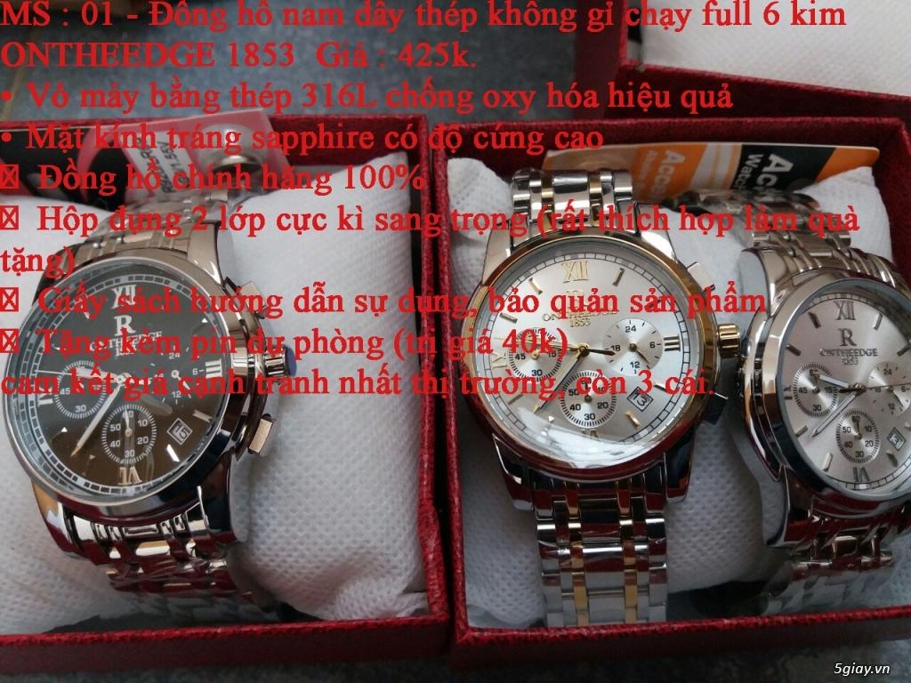 đồng hồ nam giá rẻ nhất toàn quốc cho các bạn lựa chọn - 3