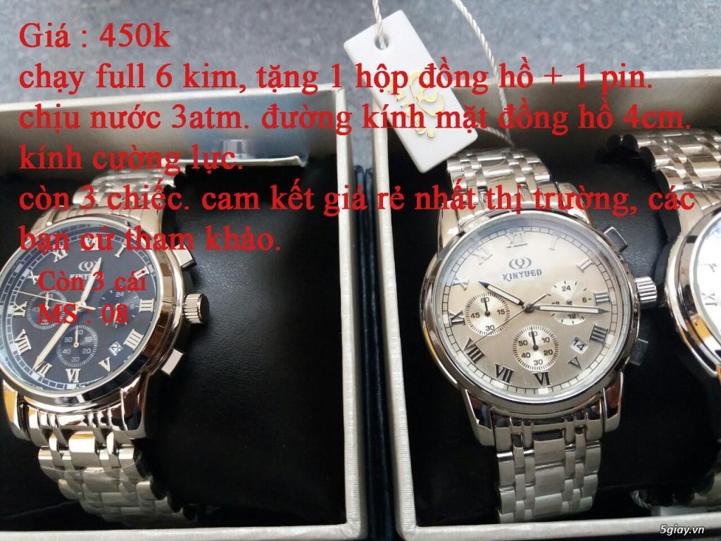 đồng hồ nam giá rẻ nhất toàn quốc cho các bạn lựa chọn - 9