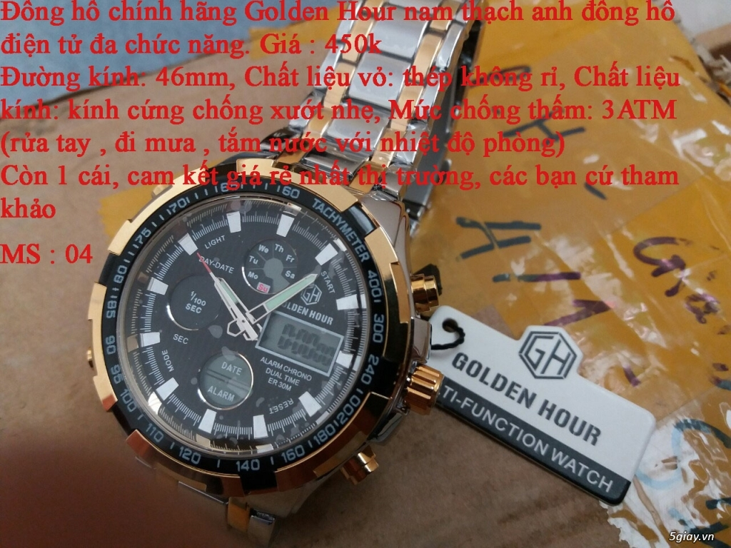 đồng hồ nam giá rẻ nhất toàn quốc cho các bạn lựa chọn - 4